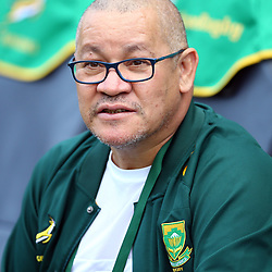 DURBAN, SOUTH AFRICA - AUGUST 18: Charles Wessels Operational Head of South Africa during the Rugby Championship match between South Africa and Argentina at Jonsson Kings Park on August 18, 2018 in Durban, South Africa. (Photo by Steve Haag/Gallo Images)