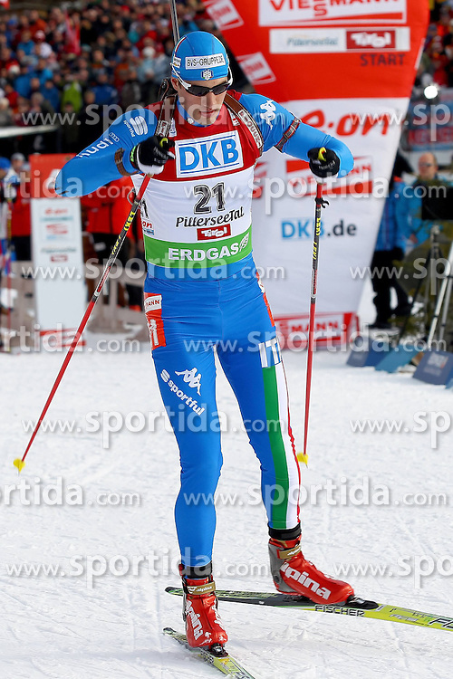10.12.2011, Biathlonzentrum, Hochfilzen, AUT, E.ON IBU Weltcup, 2. Biathlon, Hochfilzen, Verfolgung Herren, im Bild Windisch Markus (ITA) // during E.ON IBU World Cup 2th Biathlon, Hochfilzen, Austria on 2011/12/10. EXPA Pictures © 2011. EXPA Pictures © 2011, PhotoCredit: EXPA/ nph/ Straubmeier..***** ATTENTION - OUT OF GER, CRO *****