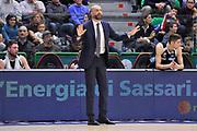 DESCRIZIONE : Campionato 2015/16 Serie A Beko Dinamo Banco di Sardegna Sassari - Dolomiti Energia Trento<br /> GIOCATORE : Maurizio Buscaglia<br /> CATEGORIA : Allenatore Coach Ritratto Mani<br /> SQUADRA : Dolomiti Energia Trento<br /> EVENTO : LegaBasket Serie A Beko 2015/2016<br /> GARA : Dinamo Banco di Sardegna Sassari - Dolomiti Energia Trento<br /> DATA : 06/12/2015<br /> SPORT : Pallacanestro <br /> AUTORE : Agenzia Ciamillo-Castoria/C.Atzori