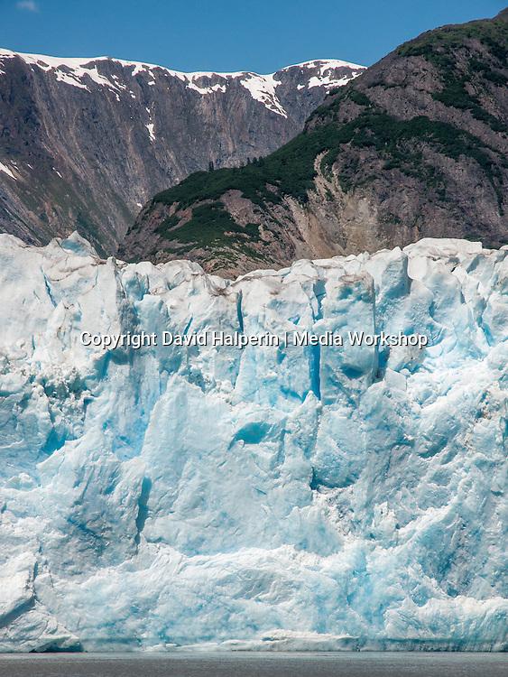 North Sawyer Glacier face