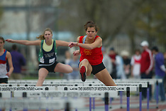 Forest City Mustang Invitational - sprint hurdles