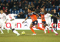 Lucas BARRIOS - 07.02.2015 - Montpellier / Lille - 24eme journee de Ligue 1<br /> Photo : Andre Delon / Icon Sport