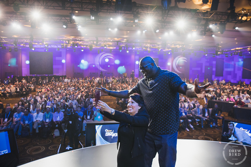 Shaq | Shaquille O'neal<br /> Akamai Edge World Conference <br /> Aria Hotel | Las Vegas, NV<br /> June 2019<br /> <br /> Drew Bird Photography<br /> San Francisco Bay Area Photographer<br /> Have Camera. Will Travel. <br /> <br /> www.drewbirdphoto.com<br /> drew@drewbirdphoto.com