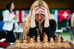 Laura Unuk of Slovenia during opening round of MITROPA 2019, on May 27th, 2019 in Radenci, Slovenia. Photo by Blaž Weindorfer / Sportida