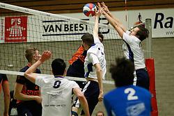 20170125 NED: Beker, Sliedrecht Sport - Seesing Personeel Orion: Sliedrecht<br />Ian de Bus (7) of Sliedrecht Sport, Tom Feldkamp (11) of Sliedrecht Sport <br />©2017-FotoHoogendoorn.nl / Pim Waslander