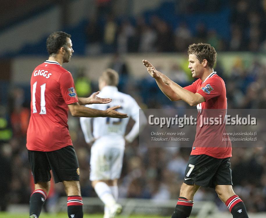 Michael Owen. Leeds - Manchester United. Liigacup. Leeds 20.9.2011. Photo: Jussi Eskola
