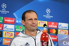 Juventus FC press conference - 17 October 2017