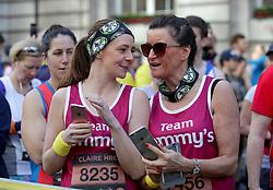 Members of Team Tommy's during the 2019 London Landmarks Half Marathon.