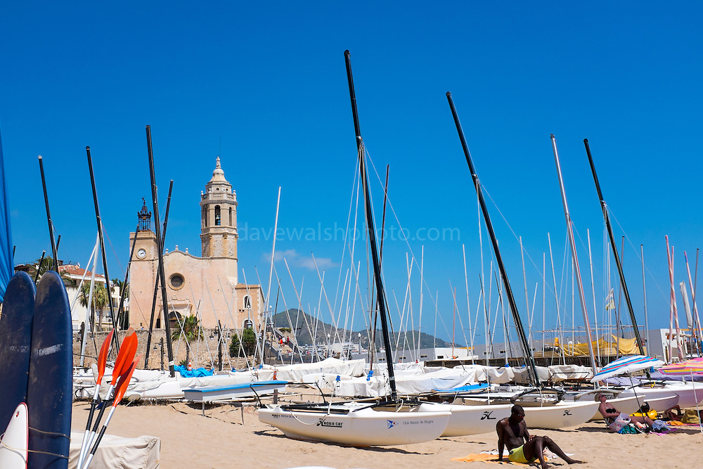 St. Bartholomew and St. Thecla Church, Sitges, Barcelona