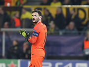 Hugo Lloris of Tottenham Hotspur during the Champions League round of 16, leg 2 of 2 match between Borussia Dortmund and Tottenham Hotspur at Signal Iduna Park, Dortmund, Germany on 5 March 2019.