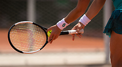 May 29, 2019 - Paris, FRANCE - Carla Suarez Navarro of Spain in action during her second-round match at the 2019 Roland Garros Grand Slam tennis tournament (Credit Image: © AFP7 via ZUMA Wire)