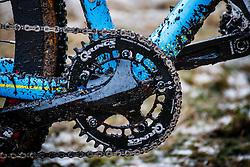 Q-Rings, NK Veldrijden / Dutch Championship Cyclocross at Sint Michielsgestel, Noord-Brabant, The Netherlands, 8 January 2017. Photo by Pim Nijland / PelotonPhotos.com | All photos usage must carry mandatory copyright credit (Peloton Photos | Pim Nijland)