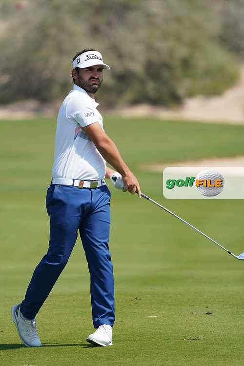 Antoine Rozner (FRA) during the second round of the Commercial Bank Qatar Masters 2020, Education City Golf Club , Doha, Qatar. 06/03/2020<br /> Picture: Golffile | Phil Inglis<br /> <br /> <br /> All photo usage must carry mandatory copyright credit (© Golffile | Phil Inglis)