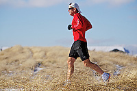 Despite consistently running 80 miles a week, Erickson doesn't compete in races very often.