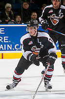 KELOWNA, CANADA - FEBRUARY 10: Ty Ronning #7 of the Vancouver Giants skates against the Kelowna Rockets on February 10, 2017 at Prospera Place in Kelowna, British Columbia, Canada.  (Photo by Marissa Baecker/Shoot the Breeze)  *** Local Caption ***