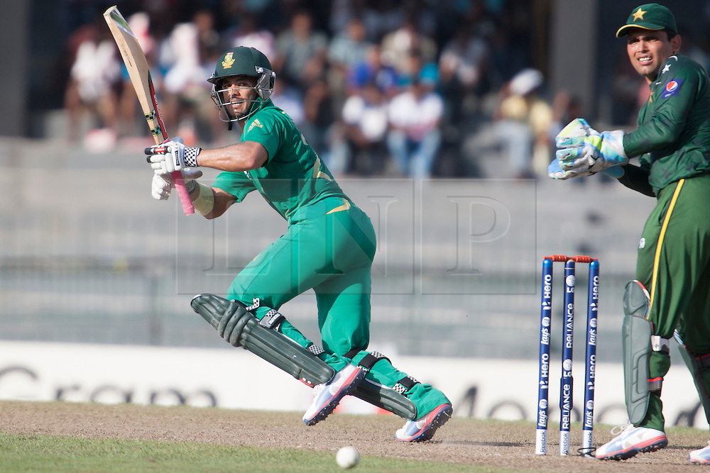 © Licensed to London News Pictures. 28/09/2012. South African Jean-Paul Duminy batting during the T20 Cricket World cup match between South Africa Vs Pakistan at the R.Premadasa Cricket Stadium,Colombo. Photo credit : Asanka Brendon Ratnayake/LNP