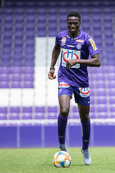 16.07.2019, Generali Arena, Wien, AUT, 1. FBL, FK Austria Wien, Fototermin, im Bild Maudo Lamine Jarjue // Maudo Lamine Jarjue during the official team and portrait photoshooting of tipico Bundesliga Club FK Austria Wien for the upcoming Season at the Generali Arena in Vienna, Austria on 2019/07/16. EXPA Pictures © 2019, PhotoCredit: EXPA/ Florian Schroetter