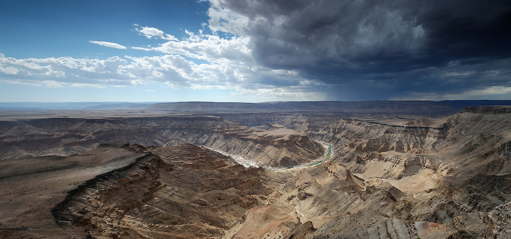 Main view of Fish River Canyon, Hobas, Fish River Canyon Area Conservation, Karas Region, Namibia