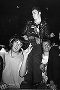 Adam and the Ants crowd, Three Punks, UK, 1980's