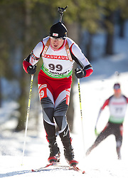 Michael Hauser of Germany during the Men 20 km Individual of the e.on IBU Biathlon World Cup on Thursday, December 16, 2010 in Pokljuka, Slovenia. The fourth e.on IBU World Cup stage is taking place in Rudno Polje - Pokljuka, Slovenia until Sunday December 19, 2010.  (Photo By Vid Ponikvar / Sportida.com)