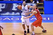 DESCRIZIONE : Cagliari Qualificazione Eurobasket 2015 Qualifying Round Eurobasket 2015 Italia Svizzera Italy Switzerland<br /> GIOCATORE : Pietro Aradori<br /> CATEGORIA : Palleggio Fallo<br /> EVENTO : Cagliari Qualificazione Eurobasket 2015 Qualifying Round Eurobasket 2015 Italia Svizzera Italy Switzerland<br /> GARA : Italia Svizzera Italy Switzerland<br /> DATA : 17/08/2014<br /> SPORT : Pallacanestro<br /> AUTORE : Agenzia Ciamillo-Castoria/GiulioCiamillo<br /> Galleria: Fip Nazionali 2014<br /> Fotonotizia: Cagliari Qualificazione Eurobasket 2015 Qualifying Round Eurobasket 2015 Italia Svizzera Italy Switzerland<br /> Predefinita :