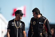 June 5-7, 2015: Canadian Grand Prix: Lewis Hamilton (GBR), Mercedes and Gerard Lopez