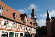 Schlosshof, Erbach, Odenwald, Naturpark Bergstraße-Odenwald, Hessen, Deutschland   palace yard, Erbach, Odenwald, Hesse, Germany