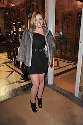 CHARLOTTE CHURCH arrives at the press night of the new Andrew Lloyd Webber  musical 'The Wizard of Oz' at The London Palladium, Argylle Street, London on 1st March 2011 followed by an aftershow party at One Marylebone, London NW1