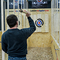 Lyon - Axe Throwing