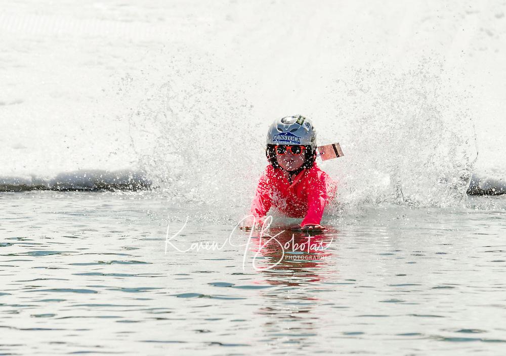 BYODC pond skimming at Gunstock.    Karen Bobotas/for the Laconia Daily Sun