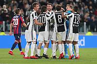 26.11.2017 - Torino - Serie A 2017/18 - 14a giornata  -  Juventus-Crotone nella  foto:  l'esultanza dei giocatori della Juventus