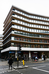 © Licensed to London News Pictures. 08/09/2017. London, UK. The London UK head office of British company Bell Pottinger.  The company is reported to nearing collapse after its controversial campaign for Oakbay Capital, a South African company owned by the wealthy Gupta family, was accused of inciting racial hatred. Photo credit: Ray Tang/LNP