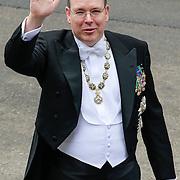 NLD/Amsterdam/20130430 - Inhuldiging Koning Willem - Alexander, prince Albert van Monaco