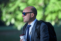 © Licensed to London News Pictures. 02/09/2019. London, UK. Bussiness advisor to Number 10 ANDREW GRIFFITH is seen in Westminster, London. British Prime Minister Boris Johnson will prorogue Parliament in the run up to Britain's planned Brexit deadline in an attempt to keep the option of a 'no deal' Brexit. Photo credit: Ben Cawthra/LNP