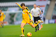 Cambridge Utd's Harrison Dunk during the Sky Bet League 2 match between Plymouth Argyle and Cambridge United at Home Park, Plymouth, England on 12 December 2015. Photo by Graham Hunt.