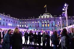 Views at Skate At Somerset House with Fortnum & Mason on 16th November 2016.