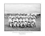 Neg No: .876/a19804-a1989..1955AIJFCF...1955.All Ireland Junior Football Championship - Home Final..18.09.1955, 09.18.1955, 18th September 1955.Cork.03-10..Derry.01-07...Derry Team