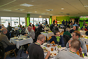 VIP dining during the EFL Sky Bet League 2 match between Forest Green Rovers and Morecambe at the New Lawn, Forest Green, United Kingdom on 17 November 2018.