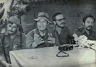 Fotos de Archivo de la Comandancia General del Frente Farabundo Marti (FMLN) durante los anos de la guerra civil. Leonel Gonalez, Eduardo Sancho y Salvador Guerral. Photo: Imagenes Libres.