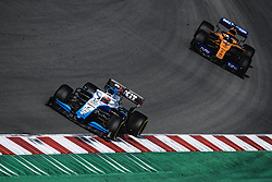 March 1, 2019 - Barcelona, Catalonia, Spain - ROBERT KUBICA (POL) from team Williams drives in his FW42 followed by CARLOS SAINZ (ESP) from team McLaren during day eight of the Formula One winter testing at Circuit de Catalunya (Credit Image: © Matthias OesterleZUMA Wire)