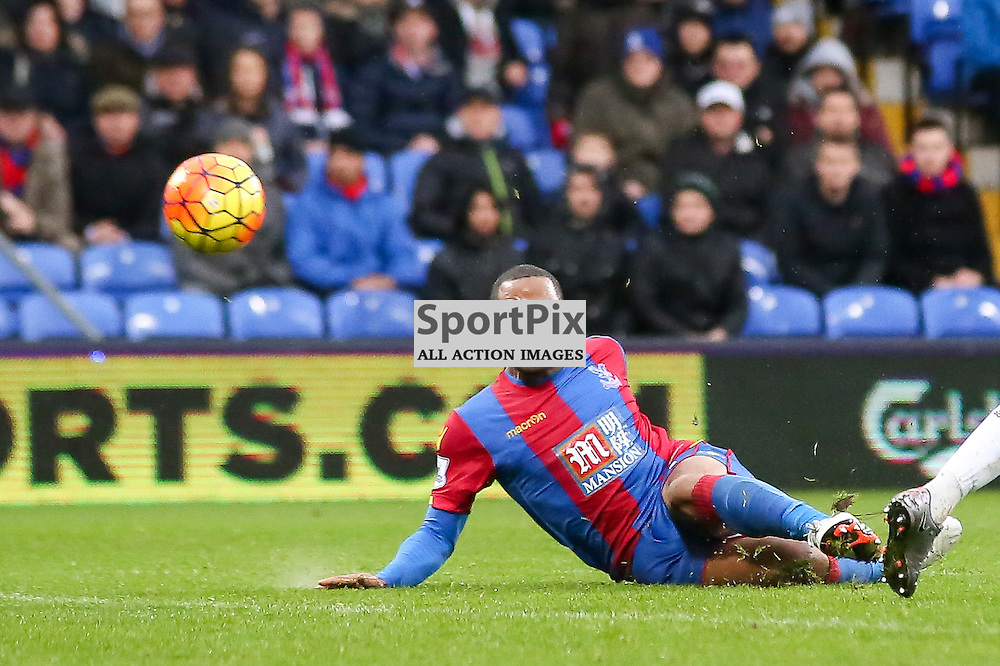 Jason Puncheon of Crystal Palace During Crystal Palace vs Chelsea Sunday 3rd January 2016