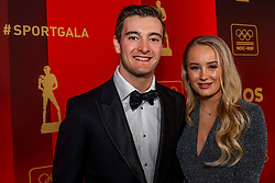 19-12-2018 NED: Sportgala NOC * NSF 2018, Amsterdam<br /> In de Amsterdamse AFAS vindt het traditionele NOC NSF Sportgala plaats / Jeffrey Herlings met partner