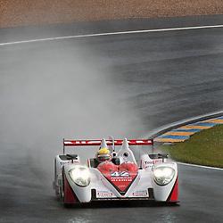 LMP2-Zytek Z11 SN-Nissan, Greaves Motorsport, Michael Krumm, Jann Mardenborough, Lucas Ordonez.<br /> Image taken during free practice and qualifying at the 90th Le Mans 24hrs at the Circuit de la Sarthe, Le Mans, France on the 20th June 2013.<br /> <br /> WAYNE NEAL | SPORTPIX.ORG.UK