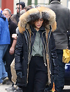 Oct. 27, 2015 - New York City, NY, USA - <br /> <br /> Actress Jennifer Lopez was on the Brooklyn set of the new TV show 'Shades of blue'<br /> ©Exclusivepix Media
