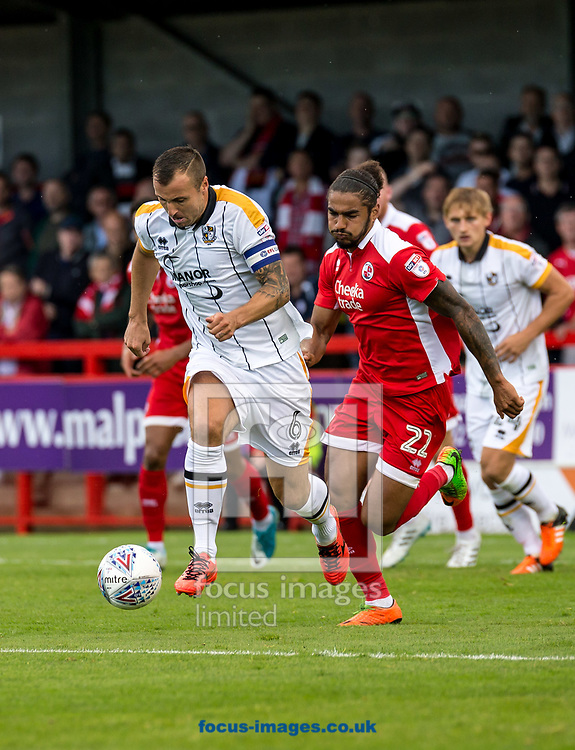 Anthony Kay of Port Vale during the Sky Bet League 2 match at  Checkatrade.com Stadium, Crawley<br /> Picture by Liam McAvoy/Focus Images Ltd 07413 543156<br /> 05/08/2017