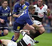 26/05/2002.Sport -Rugby Union - Parker Pen Shield Final.Sale vs Pontypridd..Mel Deane   [Mandatory Credit, Peter Spurier/ Intersport Images].