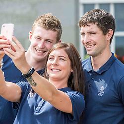 GB Olympic Curling Teams | Edinburgh | 22 June 2017