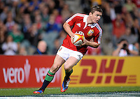 5 June 2013; Brian O'Driscoll, British & Irish Lions, goes over for his second try. British & Irish Lions Tour 2013, Western Force v British & Irish Lions, Patterson's Stadium, Perth, Australia. Picture credit: Stephen McCarthy / SPORTSFILE