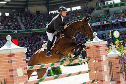 Yuri Shumskiy, (RUS), Pinokolada - Jumping Eventing - Alltech FEI World Equestrian Games™ 2014 - Normandy, France.<br /> © Hippo Foto Team - Leanjo De Koster<br /> 31-08-14