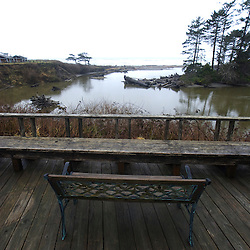 The View from the Deck at Kalaloch Lodge, Kalaloch, Olympic National Park, Washington, US
